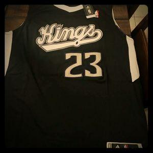 NWT Adidas VTG Sac. Kings Ben McLemore jersey
